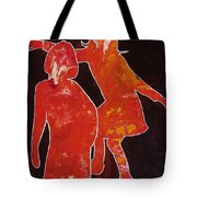 Besties - Dancing Tote Bag