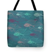 Beta Fish  Tote Bag by Mark Ashkenazi