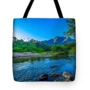 Betari River Tote Bag by Fabio Giannini