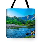 Betari River-1 Tote Bag by Fabio Giannini