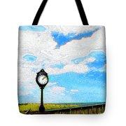 Bethany Beach Clock Tote Bag