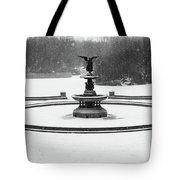 Bethesda- Angel Of The Waters Tote Bag