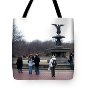 Bethesda Fountain Tote Bag