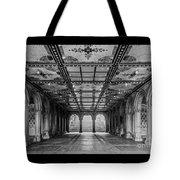 Bethesda Terrace Arcade 3 - Bw Tote Bag
