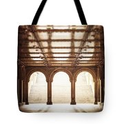 Bethesda Terrace In Color Tote Bag