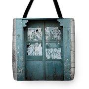 Bethlehem - Blue Door Tote Bag
