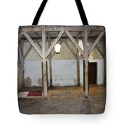 Bethlehem - Main Entrance To Nativity Church Tote Bag
