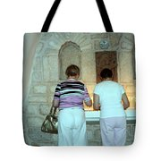 Bethlehem - Milk Grotto Church Lighting Candles Tote Bag