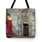 Bethlehem - Nativity Church - Preparation For Armenian Mass Tote Bag