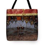 Bethlehem - Nativity Church - Silver Star Tote Bag