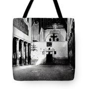 Bethlehem - Nativity Church Year 1887 Tote Bag