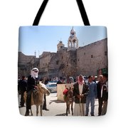 Bethlehem - Nativity Square Demonstration Tote Bag