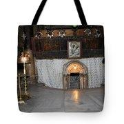 Bethlehem - Woman During Pray Tote Bag