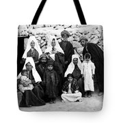 Bethlehem Family In 1900s Tote Bag