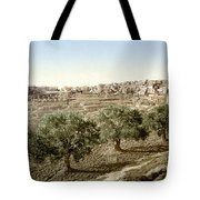Bethlehem Field 1890 Tote Bag