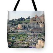 Bethlehem In Spring Tote Bag