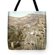 Bethlehem Mar Saba Monastery Tote Bag