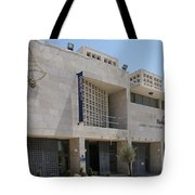 Bethlehem Peace Center Tote Bag by David Birchall