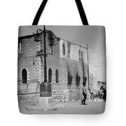Bethlehem Police Barracks Burned Down On 1938 Tote Bag