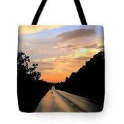 Bethlehem Road Sunset Tote Bag