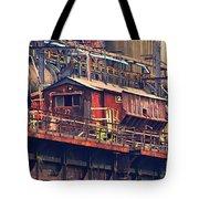 Bethlehem Steel #10 Tote Bag