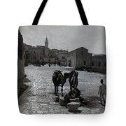 Bethlehem Street Scene 1911 Tote Bag