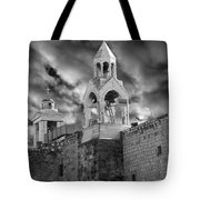 Bethlehem With Cloudy Sky Tote Bag
