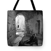 Bethlehemites Making Bread Tote Bag