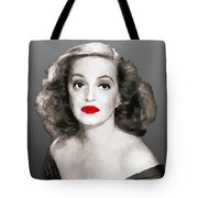 Bette Davis Draw Tote Bag