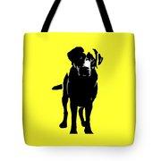 Better Black Lab Design Tote Bag