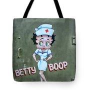 Betty Boop As A Nurse Tote Bag