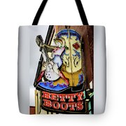 Betty Boots - Nashville Tn Tote Bag