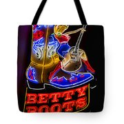 Betty Boots Tote Bag