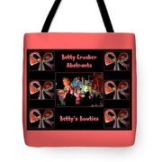 Betty Crocker's Abstracts - Betty's Bowties Tote Bag