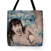 Betty Page Tote Bag