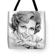 Betty White Tote Bag