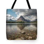Between A Rock And A Beautiful Place Tote Bag