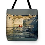 Between Icebergs - Greenland Tote Bag