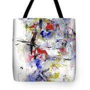 Between Jazz And The Blues Tote Bag