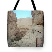 Between Rocks  Tote Bag