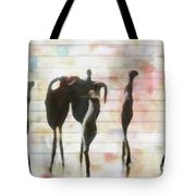 Between The Lines Tote Bag