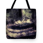 Between The Pines Tote Bag