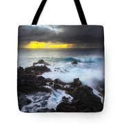 Between Two Storms Tote Bag