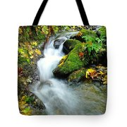 Betwixt The Mossy Rocks Tote Bag