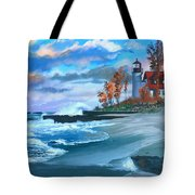 Betzie Lighthouse Tote Bag