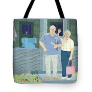 Bev And Jack Tote Bag