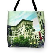 Beverly Hills Rodeo Drive 3 Tote Bag
