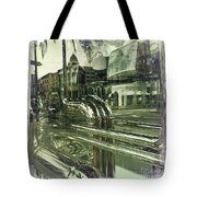 Beverly Hills Rodeo Drive 8 Tote Bag