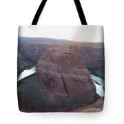 Bend At The River Tote Bag