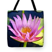 Beyond Beautiful Water Lily Tote Bag